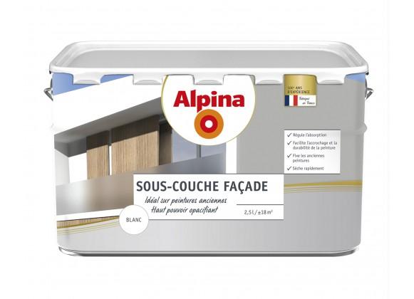 sous couche fa ade opacifiante 2 5l blanc 22 90 chez cdecomania. Black Bedroom Furniture Sets. Home Design Ideas