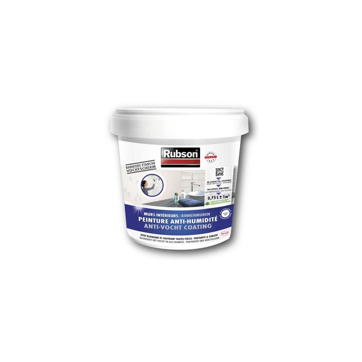 Peinture tanche stop humidit 0 75l 18 20 chez for Peinture anti humidite interieure